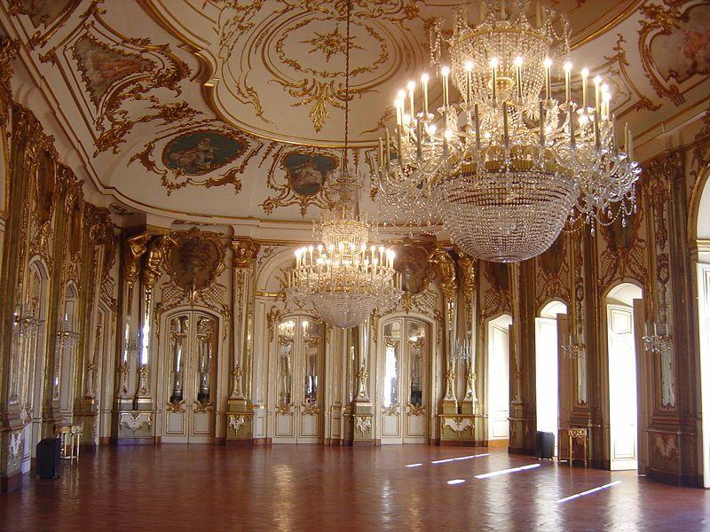 Queluz National Palace 舞踏会の間 宮殿内部 宮殿 内装