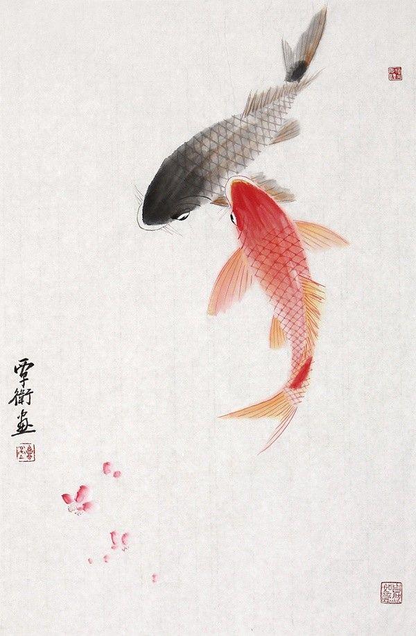 覃卫国画作品欣赏 3592 ^ Welcome To My Website:    http://www.aliexpress.com/store/919173