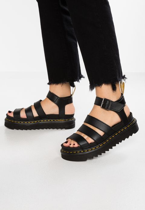 VEGAN BLAIRE Platform sandals black felix @ Zalando.co