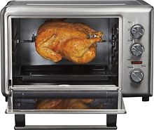 Hamilton Beach Toaster Oven With Rotisserie My Next Wish Why Use A Hot Oven In The Summ Countertop Oven Rotisserie Oven