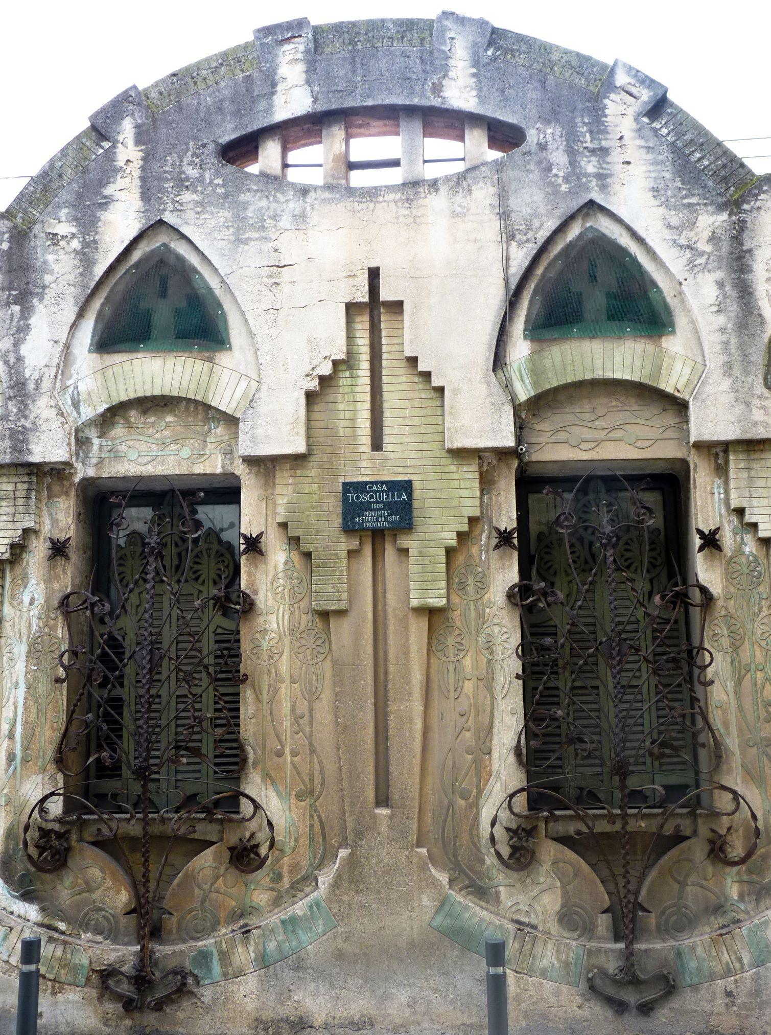 casa tosquella de eduard m balcells construida en 1906