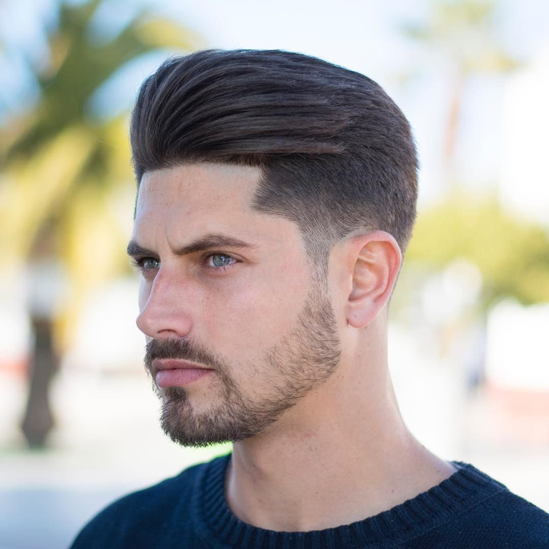 pompadour mid fade men 39 s haircuts top 100 fade haircuts hair cuts haircuts for men et. Black Bedroom Furniture Sets. Home Design Ideas