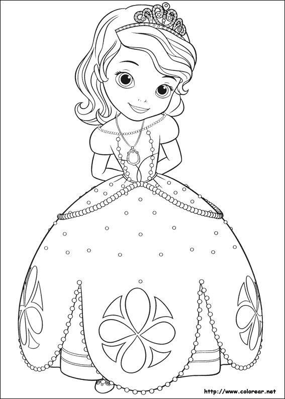 Http Www Colorear Net Dibujos Princesa Sofia Princesa Sofia 01 Jpg Princesa Para Pintar Colorear Princesas Princesa Sofia Para Pintar