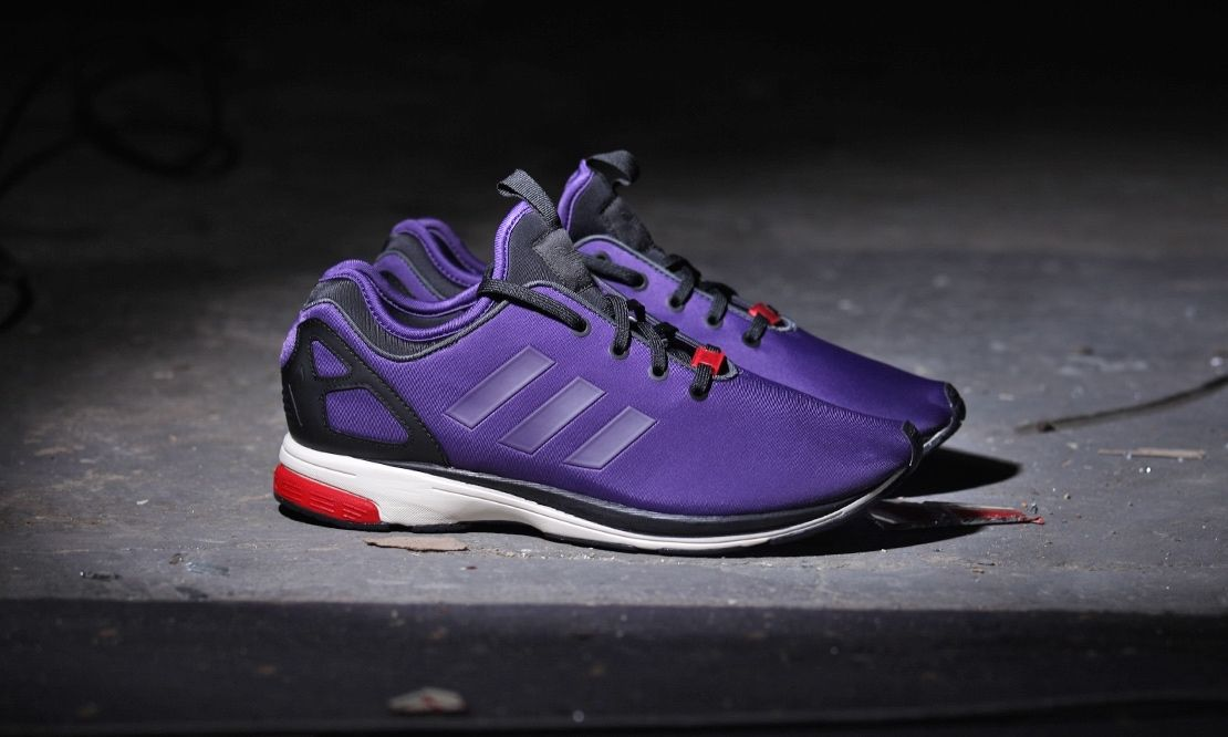 adidas zx flux dark violet