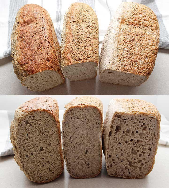 GlutenFree Vegan Bread Machine Loaf Gluten free vegan