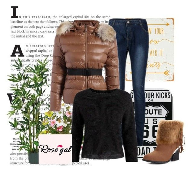 """""""Winter"""" by velidafashion ❤ liked on Polyvore featuring WALL and Nearly Natural"""