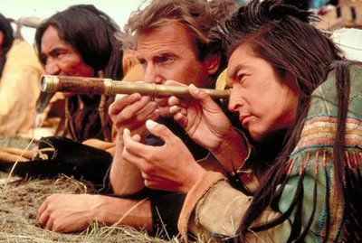 Scene from the movie Dances with Wolves