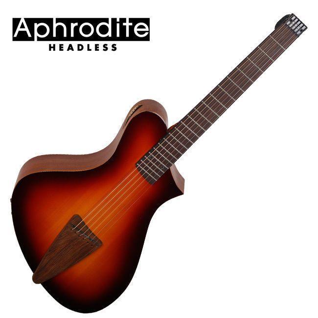 Corona Aphrodite Headless Acoustic Guitar Apn 100hseq Bs Unique Design Travel Guitar Learn Guitar Acoustic Guitar