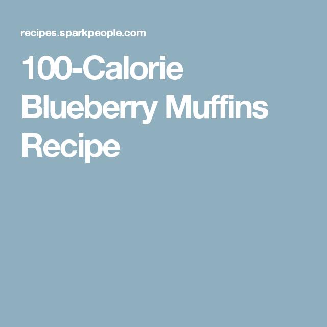 100-Calorie Blueberry Muffins Recipe