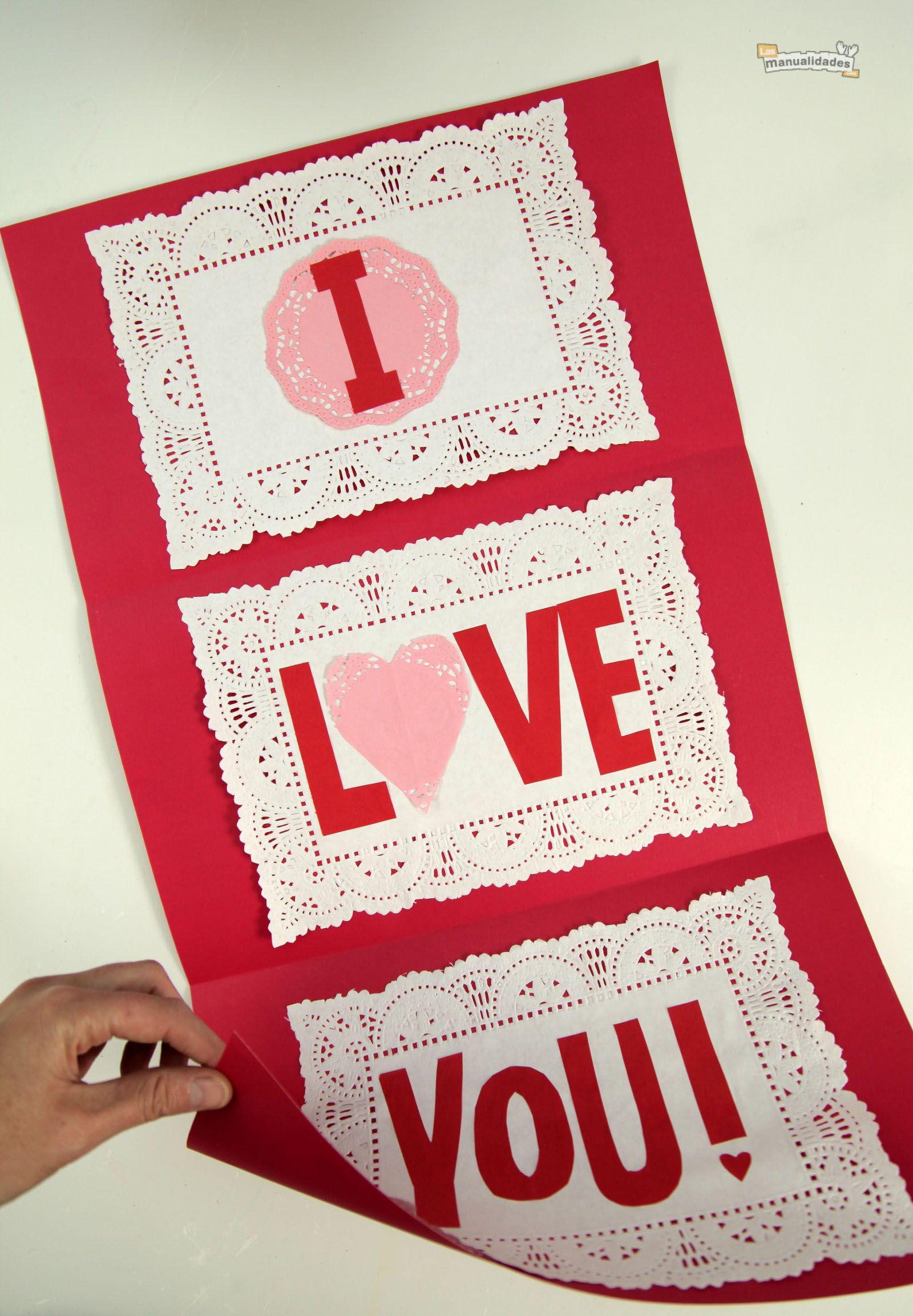 C mo hacer tarjetas de amor originales in love - Como hacer tarjetas navidenas originales ...
