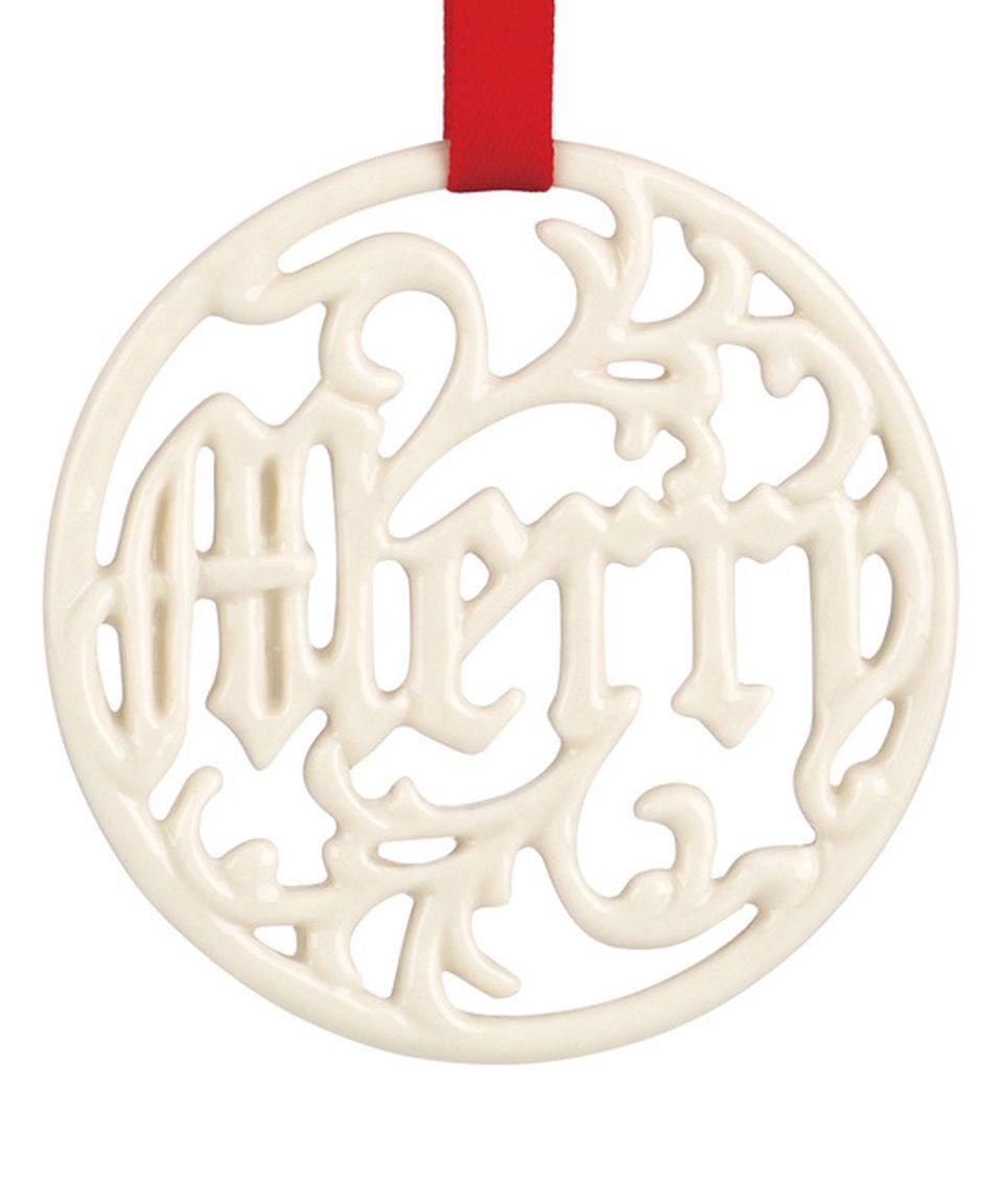 Another great find on #zulily! Merry Pierced Charm Ornament by Lenox #zulilyfinds
