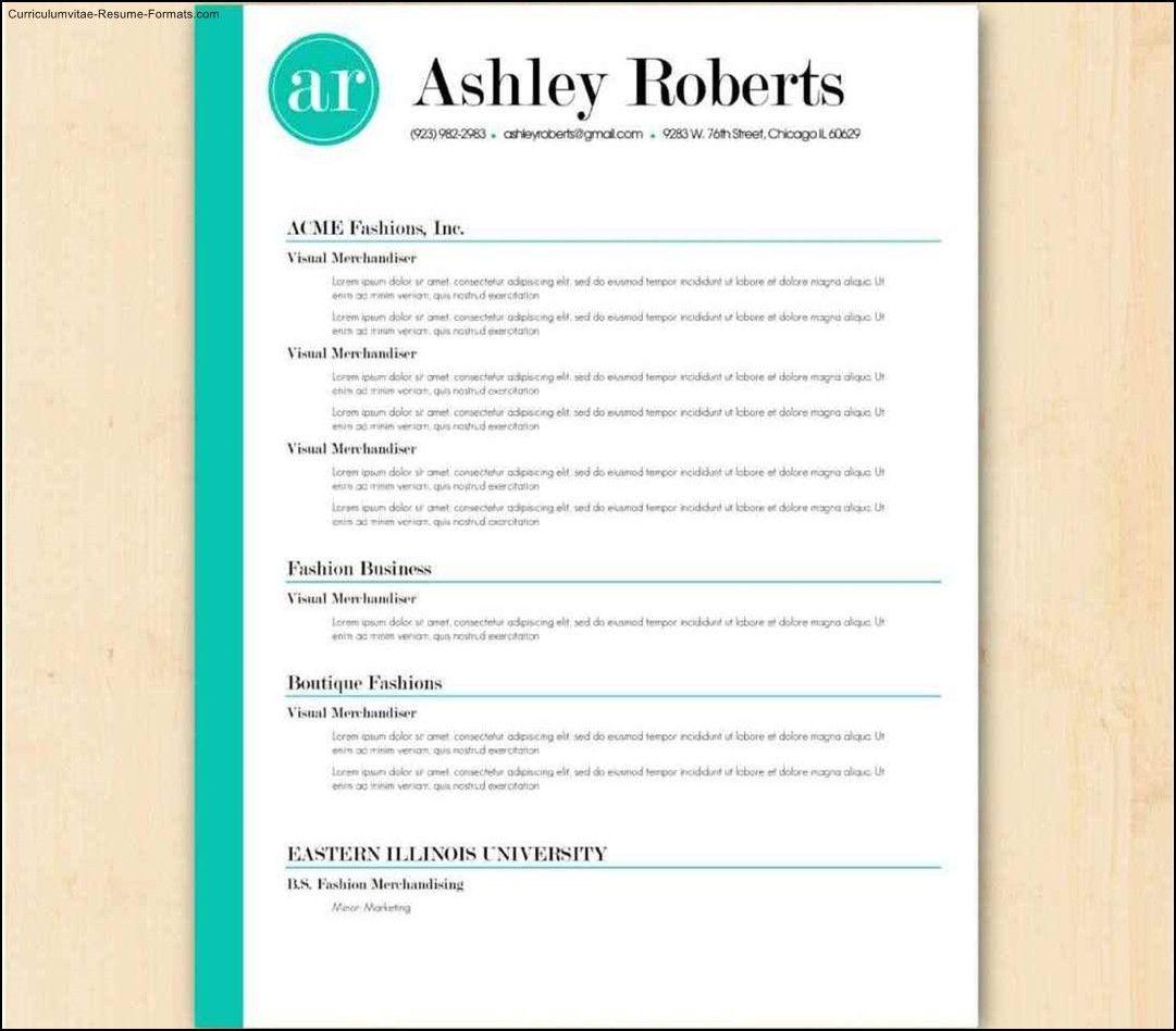 free resume templates australia