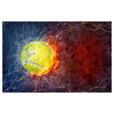 PrestigeArtStudios Tennis Graphic Art