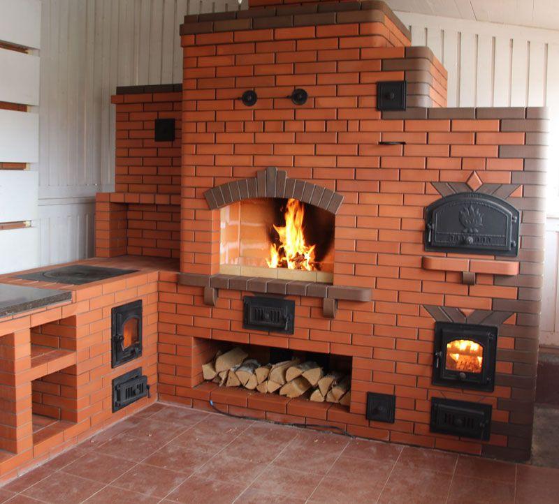 Как построить на даче и сделать для домашнего камина 38
