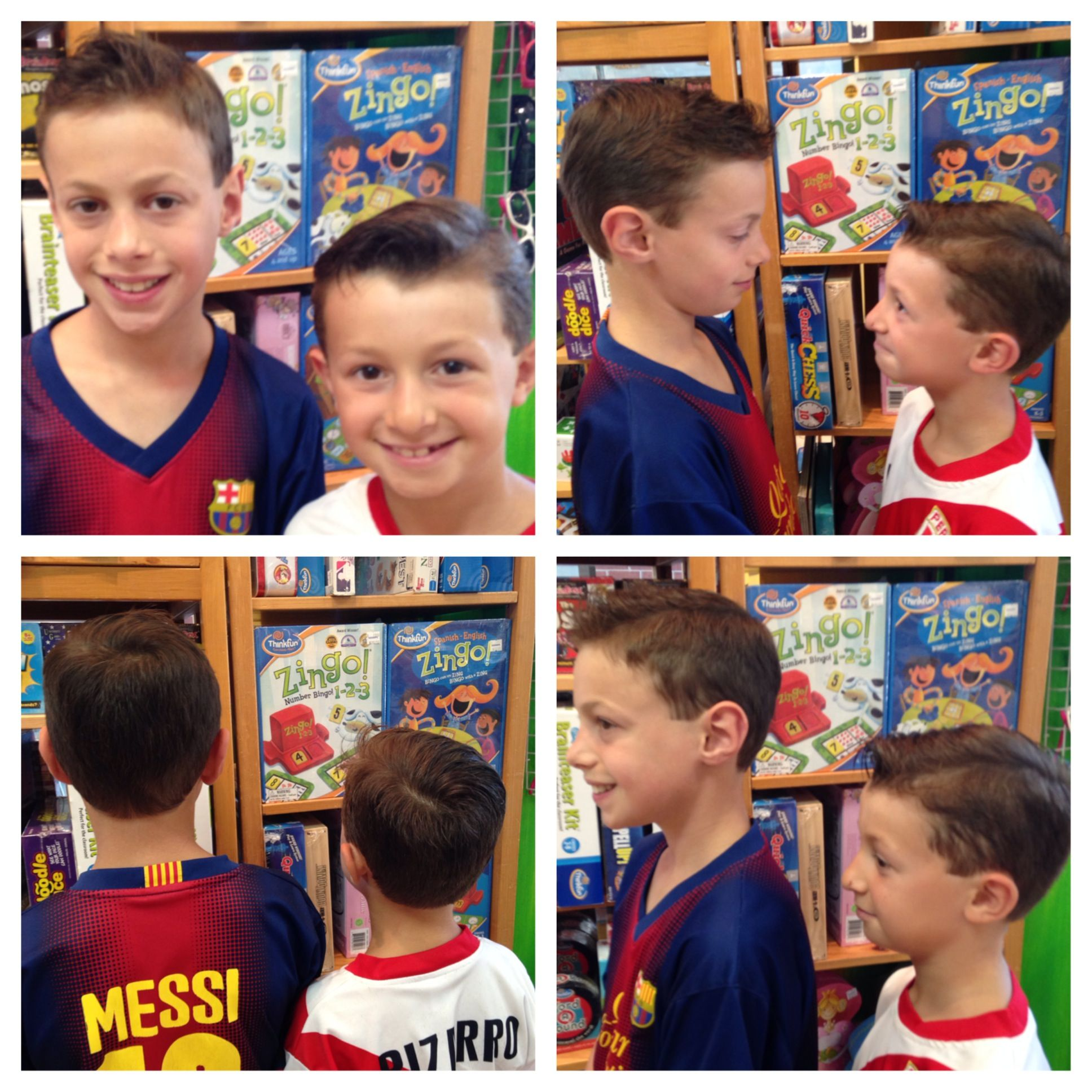brothers ~ boys haircuts ~ KidSnips.com