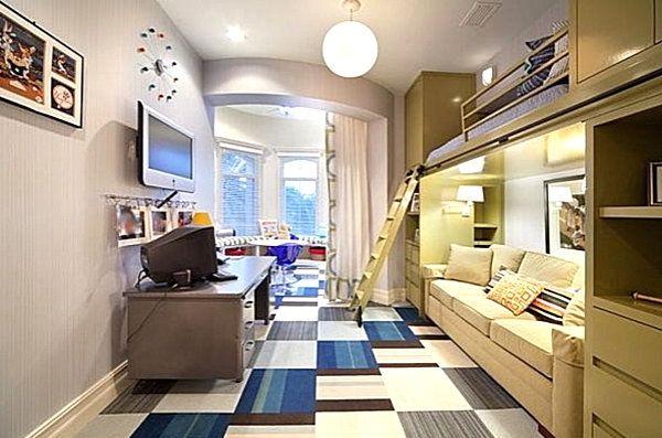 Schlafzimmer mit Hochbett für ein modernes Zuhause Pinterest