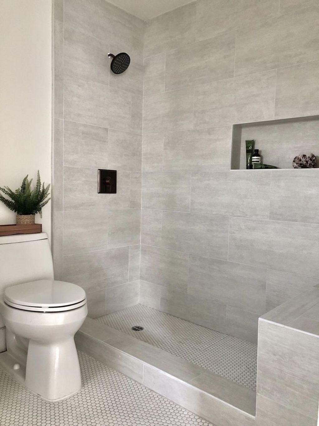 36 Amazing Small Bathroom Design Ideas In 2020 Toilette Design Badezimmer Dusche Fliesen Dusche Fliesen