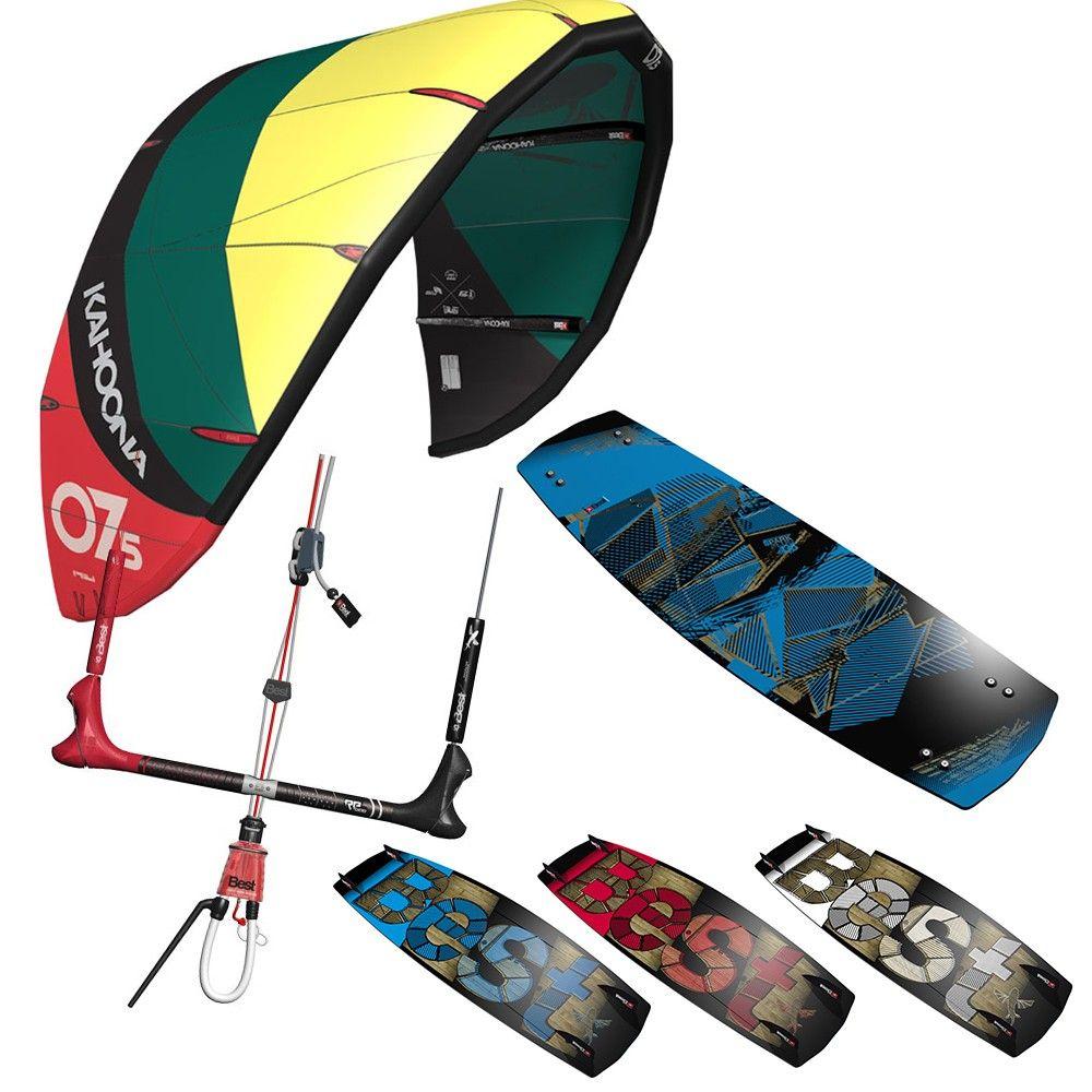 Promo pack kitesurf Best Kahoona V6 Plus 2014 + Spark