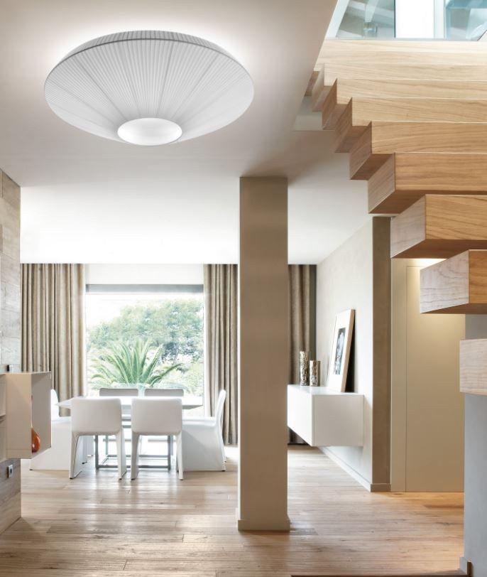 Polyester ceiling light SIAM - BOVER Il. Luminació & Mobiliario