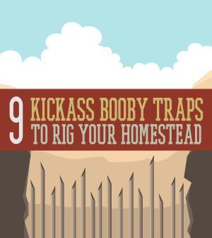 9 Kickass Booby Traps to Rig Your Homestead   DIY Homemade Projects For Emergency Preparedness By Survival Life http://survivallife.com/2014/03/31/booby-traps-diy-home-security/