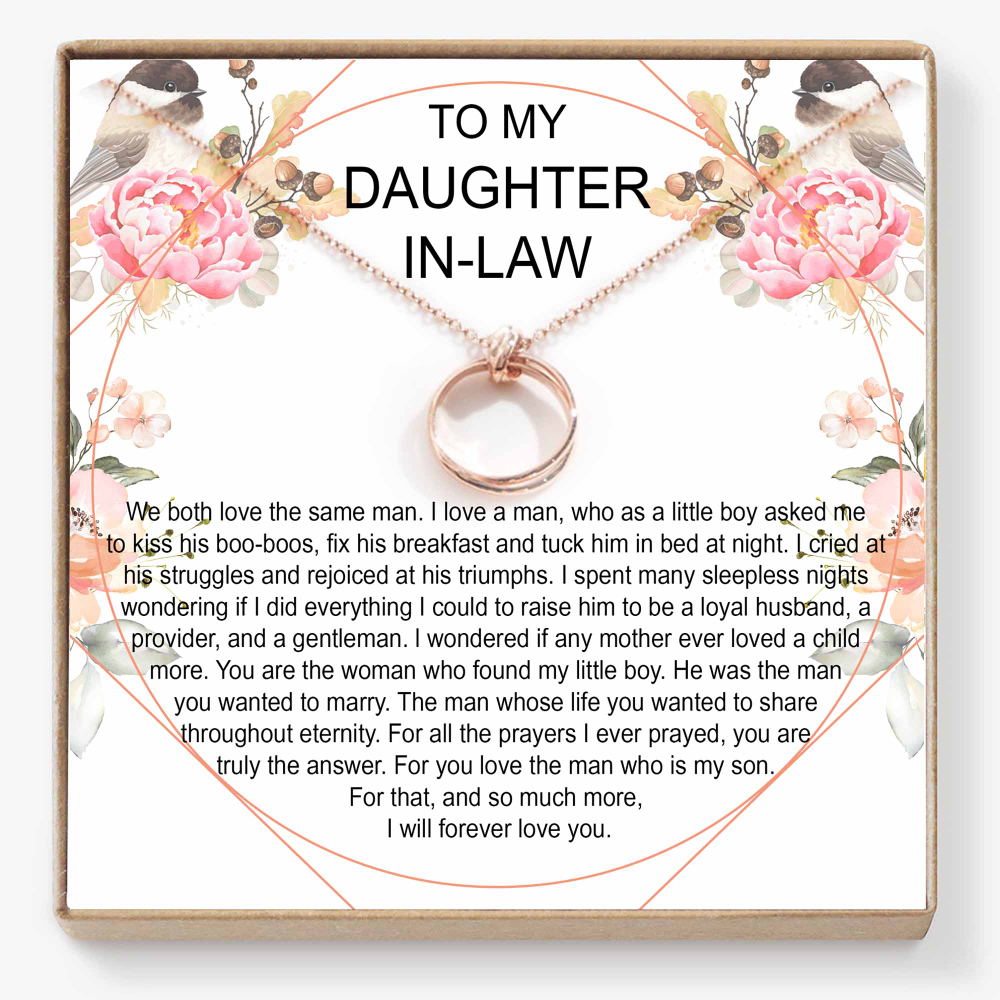 Daughter In-Law Gift Necklace - DL04