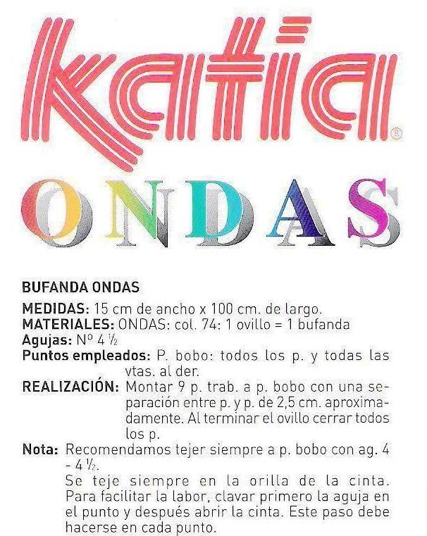 Bolso de Ondas con la Lana Katia Tutorial - Patrones Crochet ...