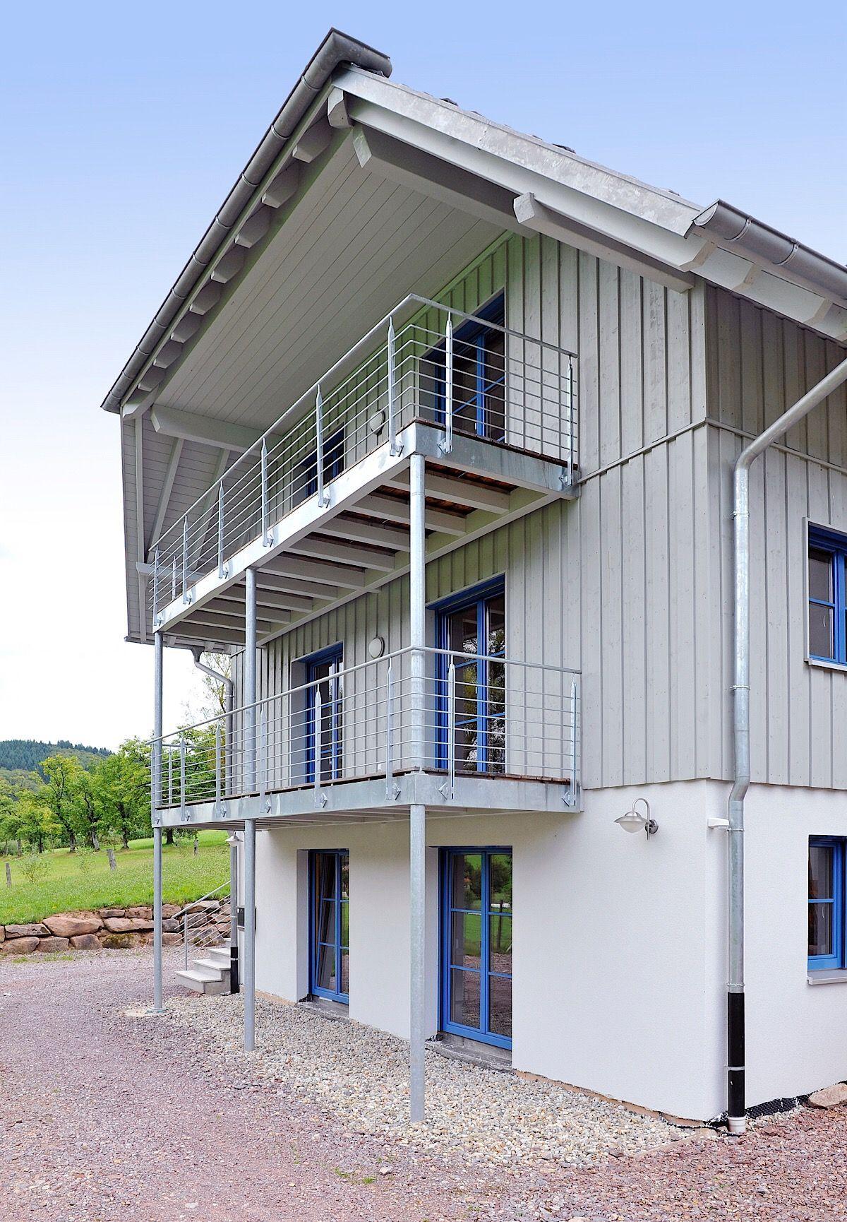 Photo of Modernes Einfamilienhaus Natur 156 in Hanglage – Frammelsberger H