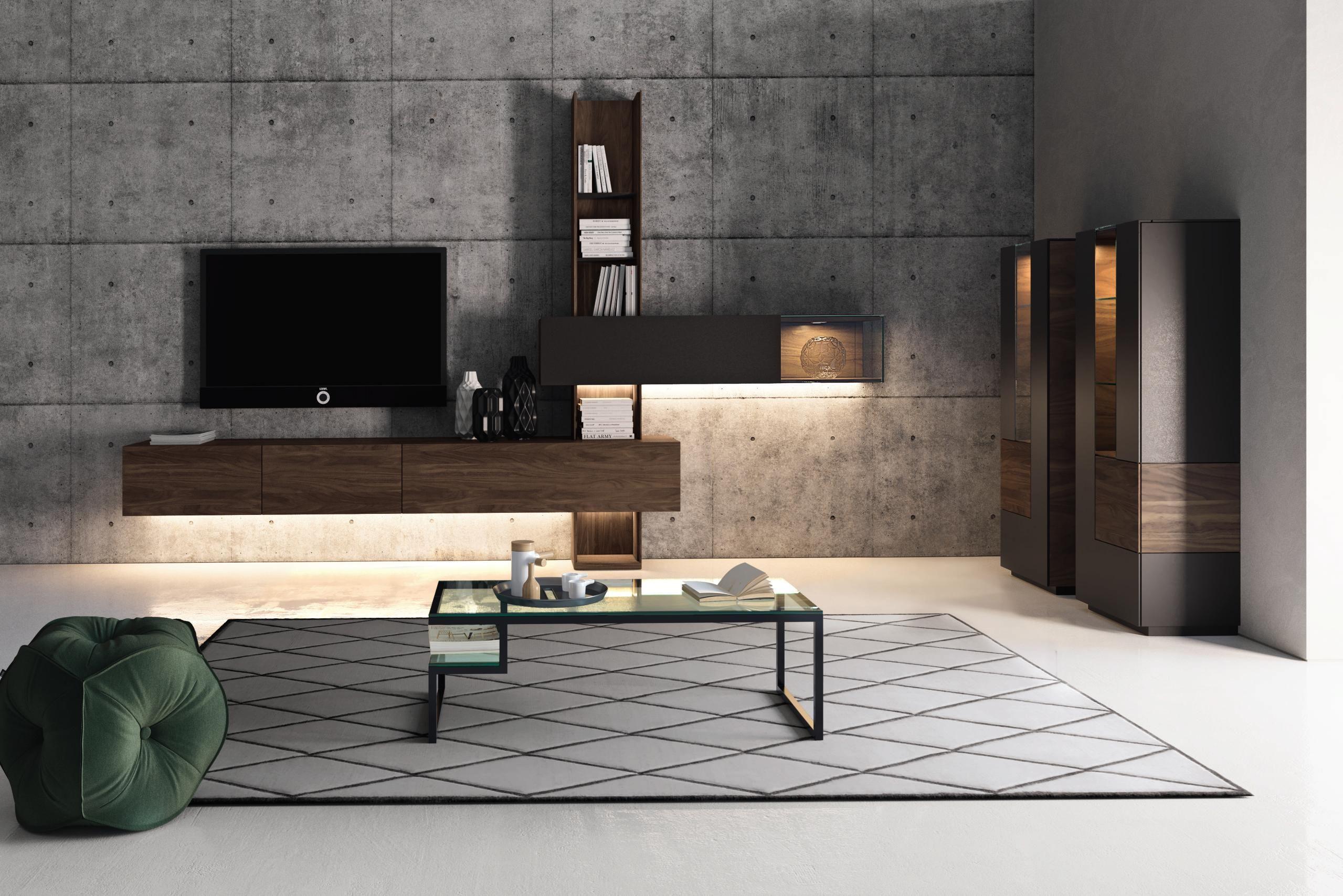Die edle Wohnwand von HÜLSTA begeistert Designliebhaber