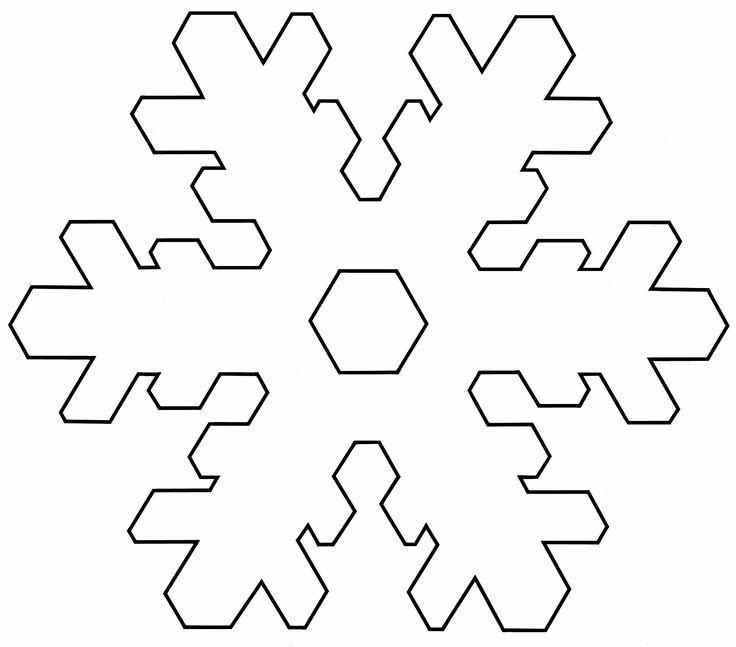 Plantilla copo de nieve para imprimir 3   Frozen   Pinterest ...