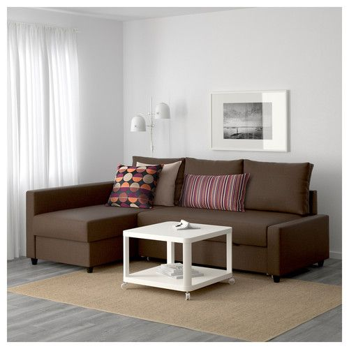Friheten Horn Svefnsofi Skiftebo Brunt Corner Sofa Bed With Storage Sofa Bed With Chaise Sofa Bed