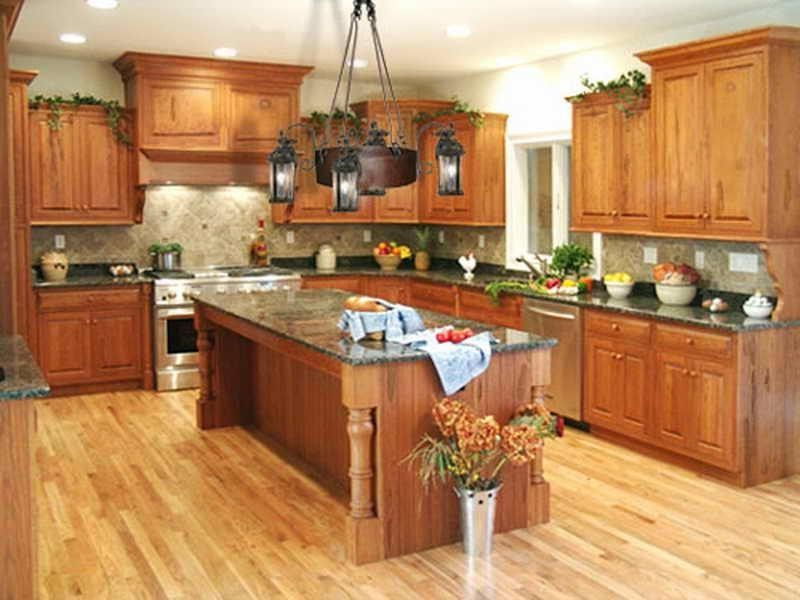Design In Wood What To Do With Oak Cabinets: Best Paint Color Ideas For Kitchen With Oak Cabinets