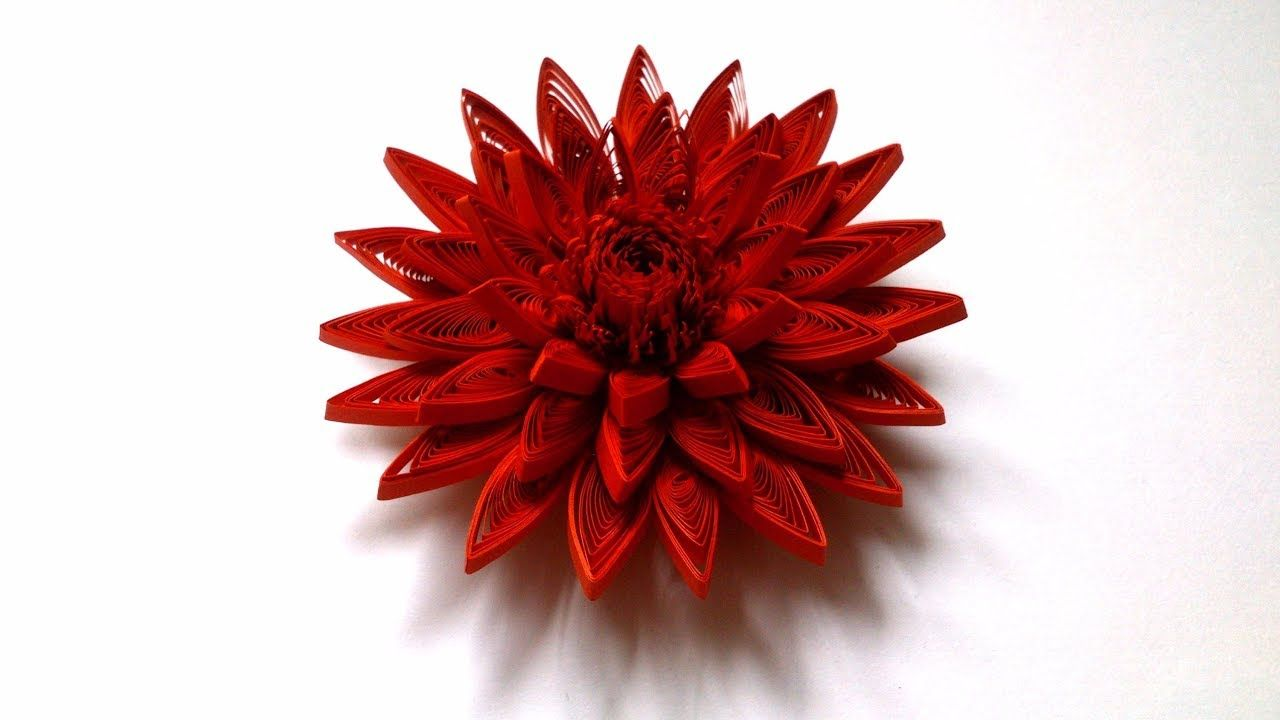 How To Make A Paper Quilling Flower Creative Paper El Emei Gz
