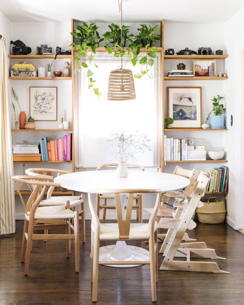 30 Incredible Eclectic Dining Designs: Tour The Home Of Art Director Elaina Bellis's Eclectic