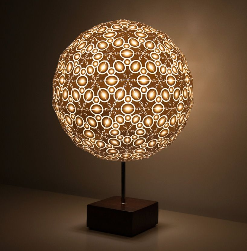 Robert Debbane S 3d Printed Lamps At New York Design Week Lamp Design Creative Lamps Cool Lamps
