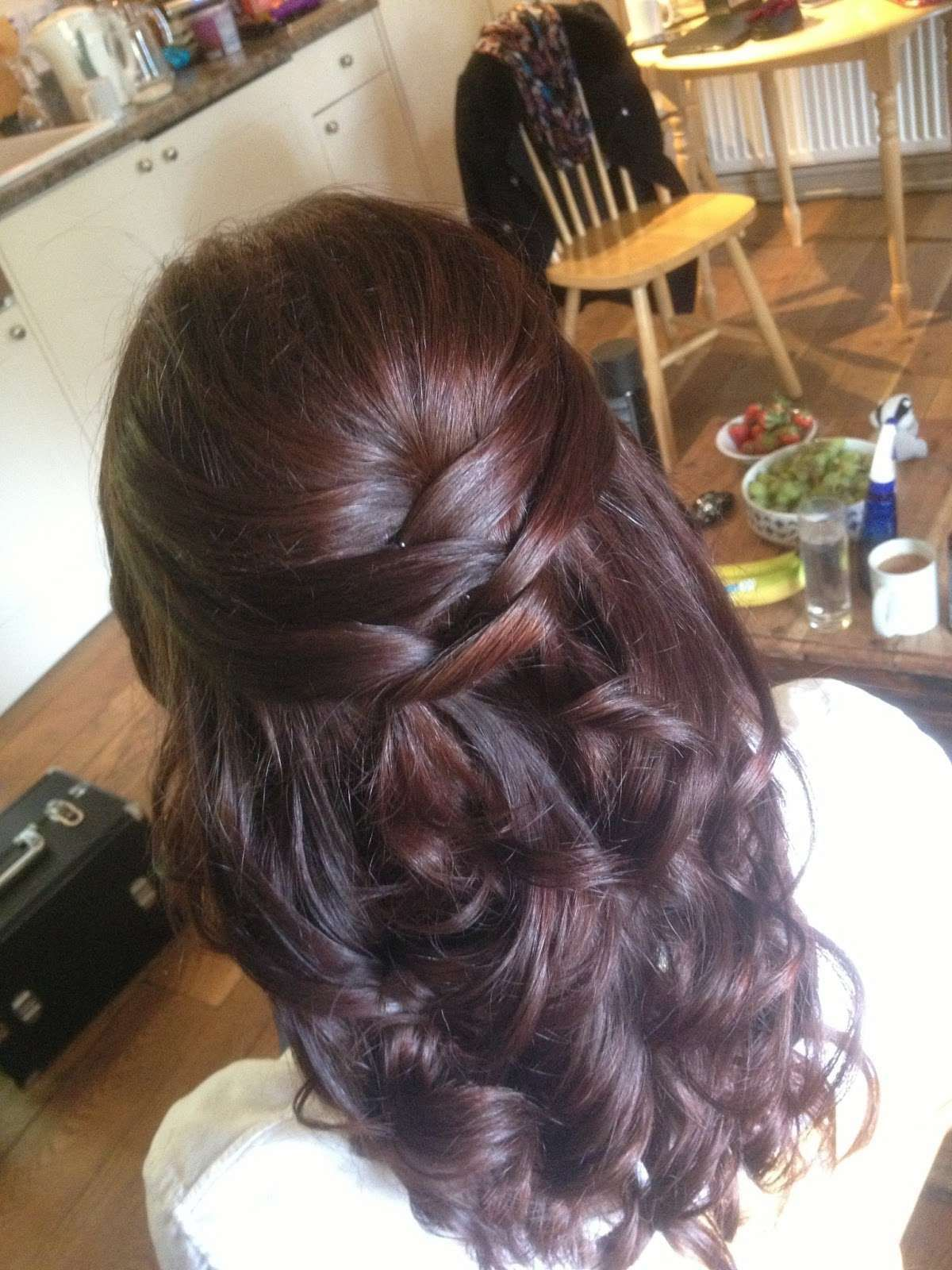 Prom Hairstyles For Long Straight Hair Design Free Download Hairstylesconcept Medium Hair Styles Bridesmaid Hair Wedding Hair Down