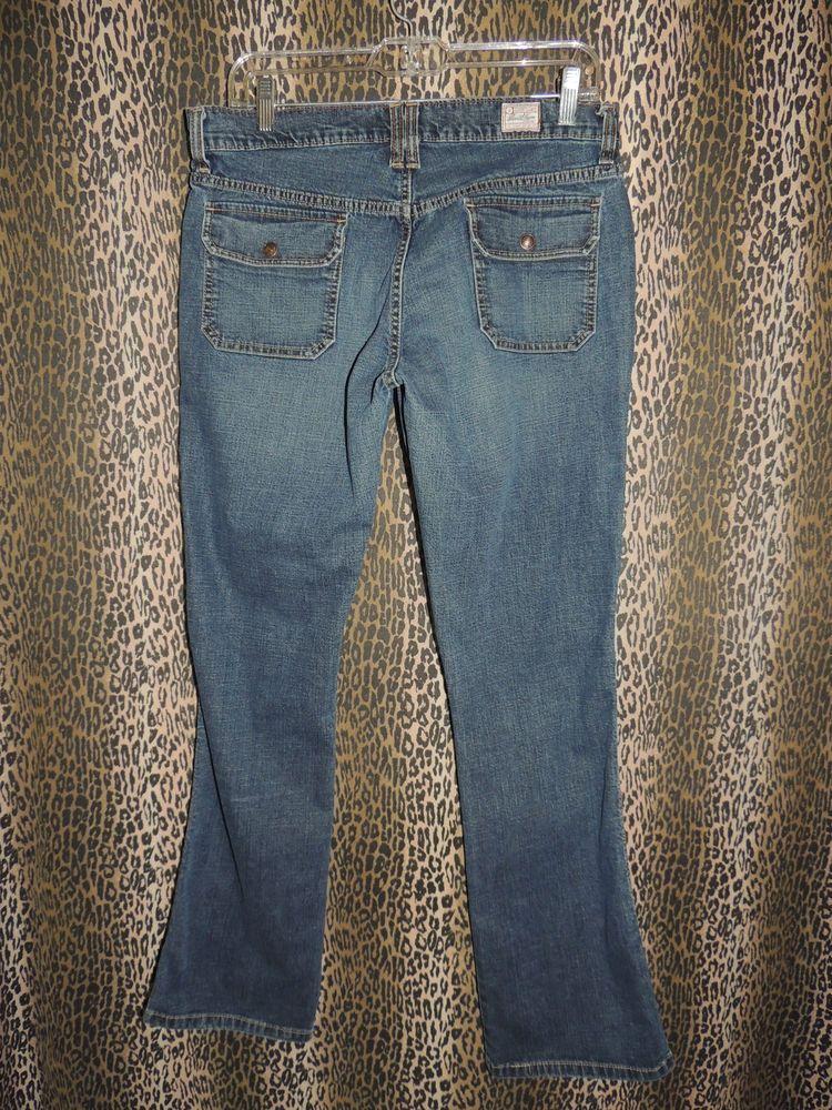 Levi Strauss Women's Signature Mid Rise Boot Cut Denim Blue Jeans  Size 8 #48 #LeviStraussSignature #BootCut