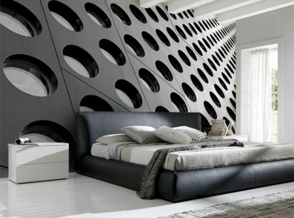 3d tapete wanddesign gestaltung architektur strukturen. Black Bedroom Furniture Sets. Home Design Ideas
