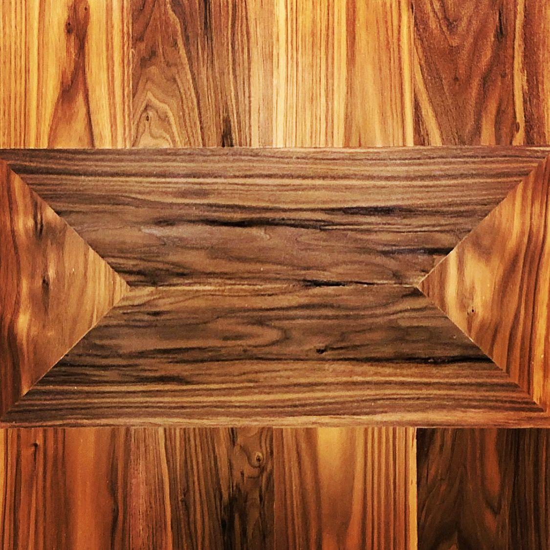 Walnut Bow Tie Inlay Desk Top Real Wood Furniture Wood Wood Logs