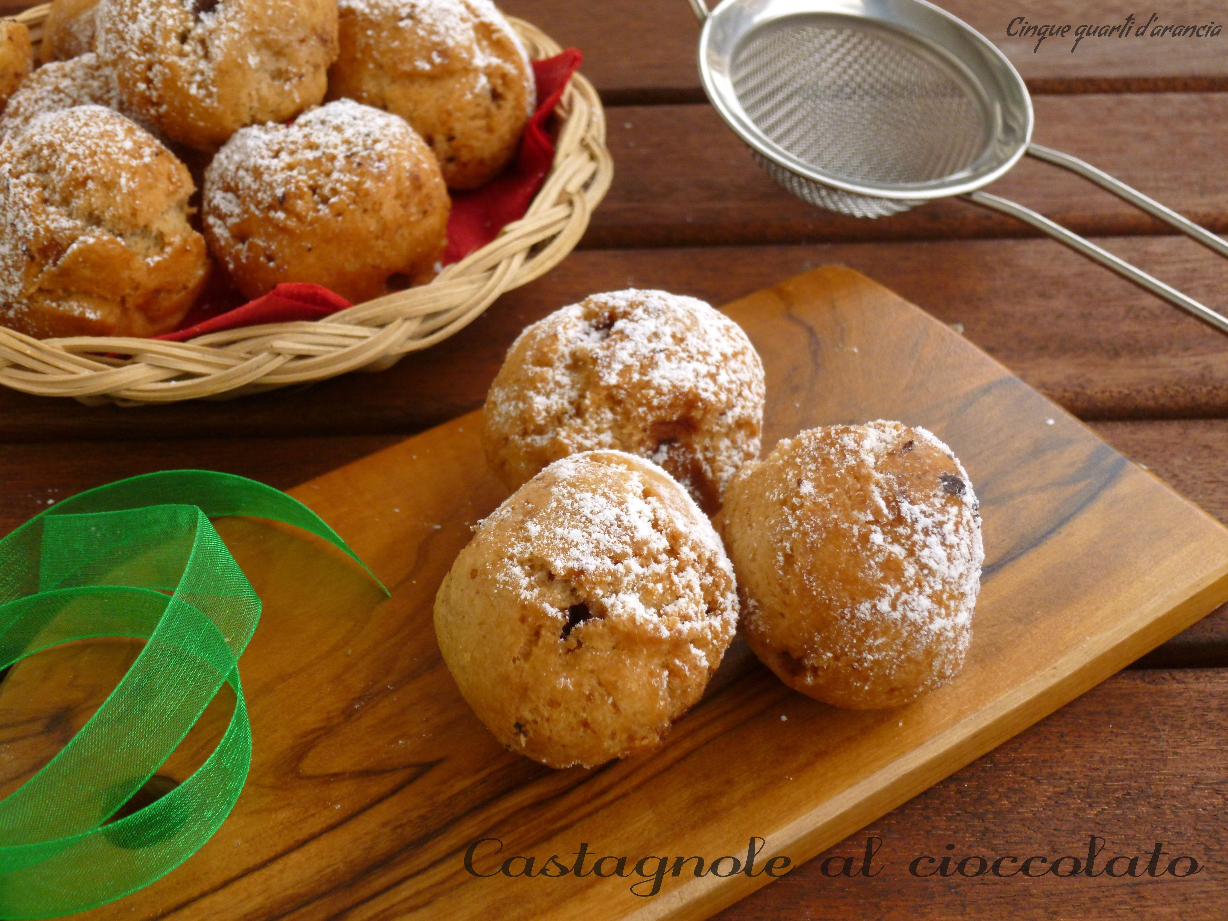 Photo of Castagnole al cioccolato (ricetta dolci di Carnevale)