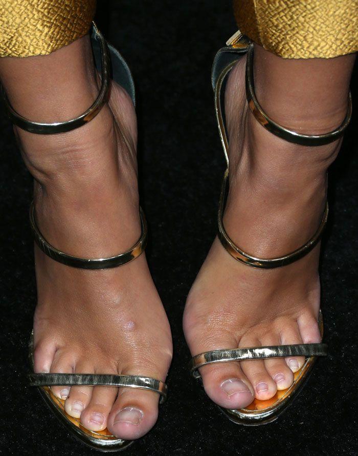 b3f732ca9ca51 ... canada emily wears the giuseppe zanotti harmony sandals in metallic  leather giuseppe zanotti shoes b7d06 a204a