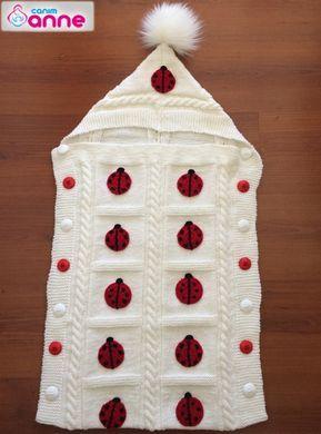 Portbebe tulum battaniye yapımı #crochetbabycocoon