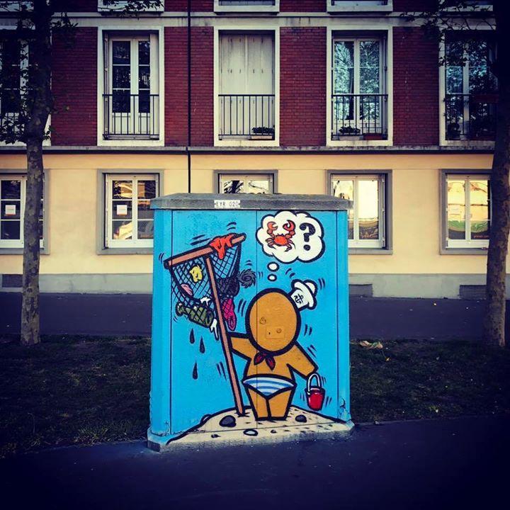 Street Art by Jace : Drôle de récolte