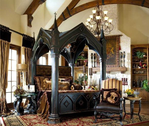 Gothic Bedroom Sets Basement Bedroom Color Ideas Bedroom Decor Images Hello Kitty Bedroom Sets: Gothic House Plans With Turrets