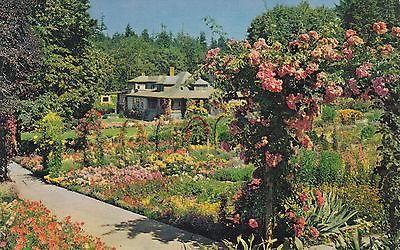 Butchart gardens - The Residence- Victoria,B.C.,Canada Postcard #butchartgardens