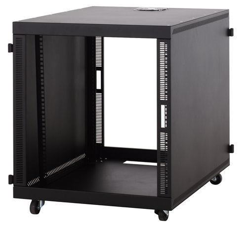 12u Compact Soho Server Cabinet No Doors Usa Made Server Rack Server Cabinet Bottle Storage Rack