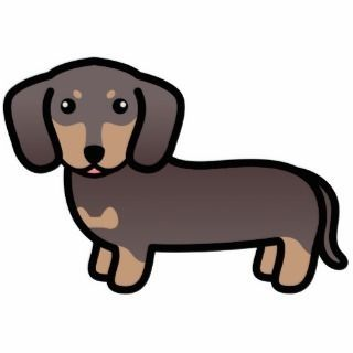 wiener dog clipart cartoon diy to make pinterest rh pinterest ph weiner dog clip art dachshund Heart Clip Art