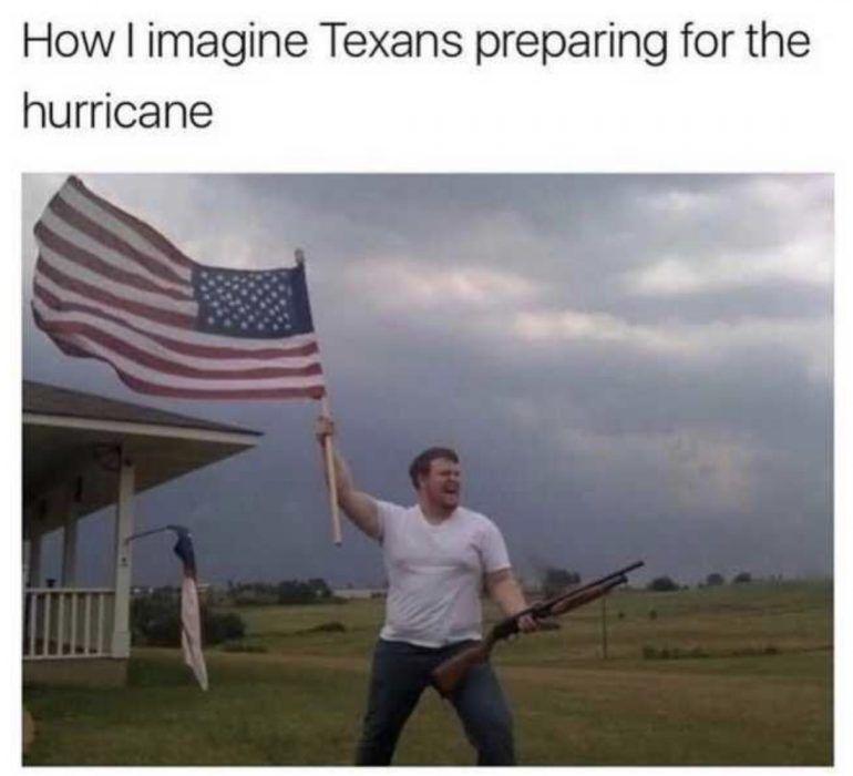 Funniest Texas Hurricane Memes The Funny Beaver In 2020 Hurricane Memes Memes Funny Pictures