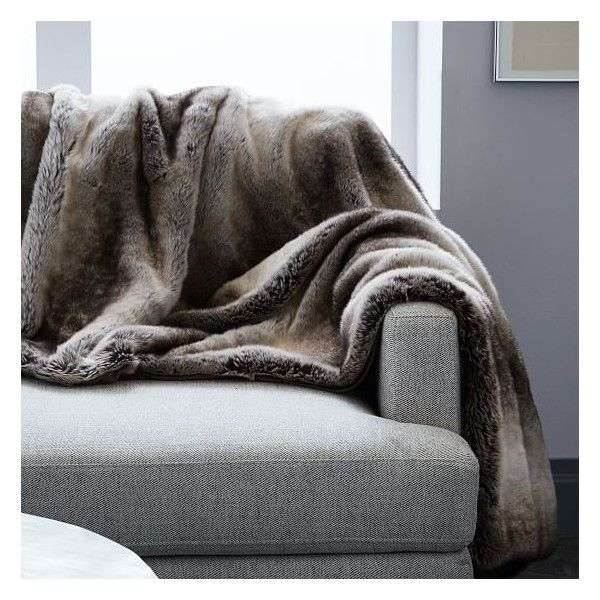 Modern Sofa SPLURGE ON A NICE THROW BLANKET New sofas cost an arm and a leg But a fresh layer of texture uwhether wool or faux fur uis the perfect way to show your