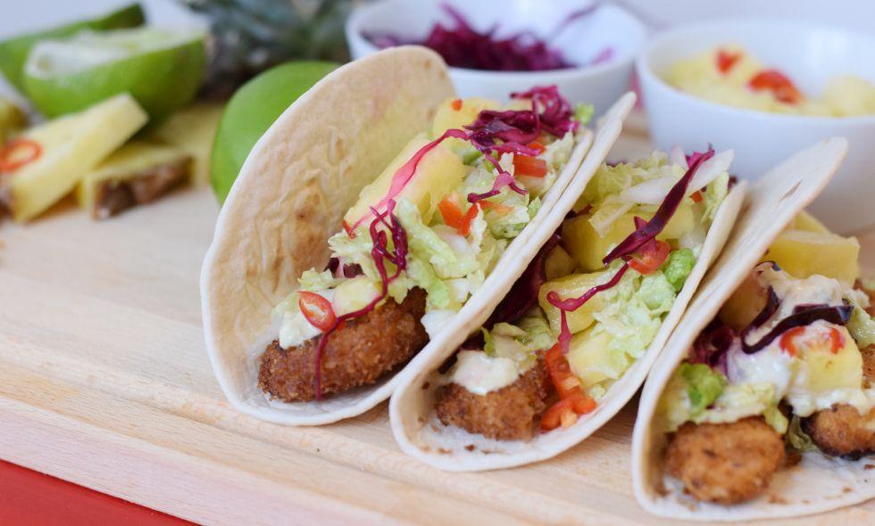 vegetariska tacos recept