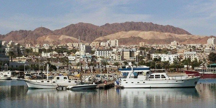 Eilat beaches, Israel
